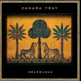 TRAY large stampa Zagara...